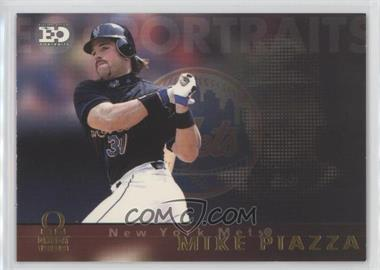 1999 Pacific Omega - EO Portraits #10 - Mike Piazza
