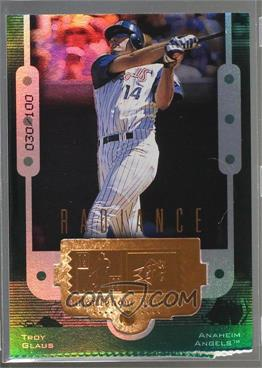 1999 SPx - [Base] - Radiance #81 - Troy Glaus /100
