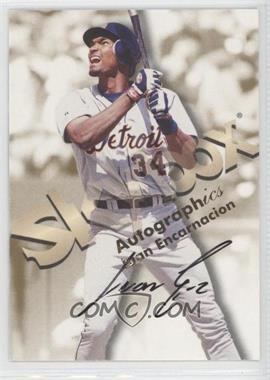 1999 Skybox Premium - Autographics #JUEN - Juan Encarnacion