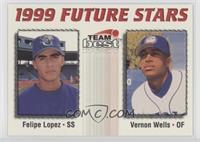 Felipe Lopez, Vernon Wells /900