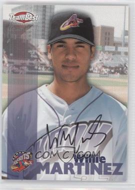 1999 Team Best - Autographs #WIMA - Willie Martinez