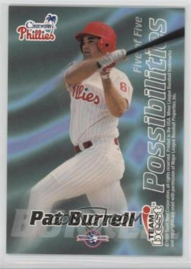 1999 Team Best - Possibilities #5 - Pat Burrell (Promo)