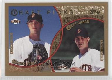 1999 Topps - [Base] #213 - Chris Jones, Jeff Urban