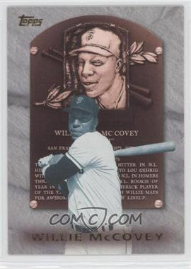 1999 Topps - Hall of Fame Collection #HOF4 - Willie McCovey