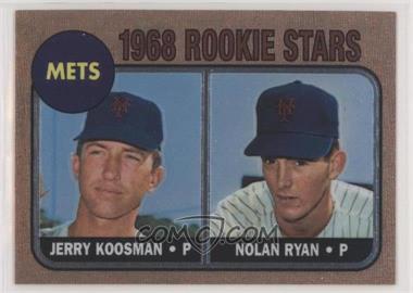 1999 Topps - Nolan Ryan Reprints - Finest #1 - Jerry Koosman, Nolan Ryan (1968 Topps)