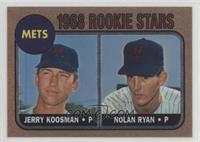 Jerry Koosman, Nolan Ryan (1968 Topps)