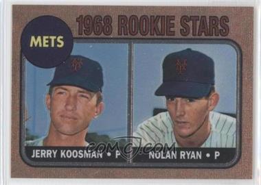 1999 Topps - Nolan Ryan Reprints - Finest #1 - Jerry Koosman, Nolan Ryan
