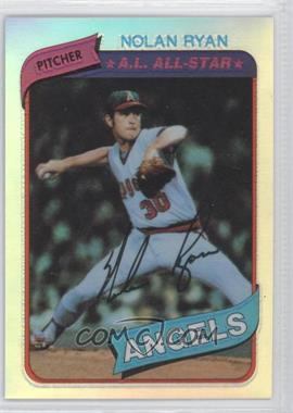 1999 Topps - Nolan Ryan Reprints - Refractor Finest #13 - Nolan Ryan