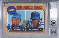 Nolan Ryan, Jerry Koosman (1968 Topps) [BASCertifiedBGSEncase…