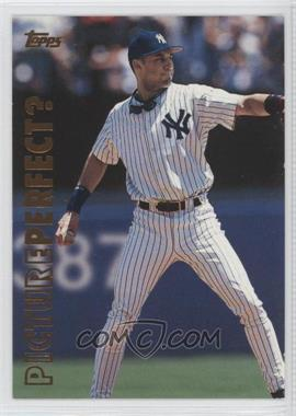 1999 Topps - Picture Perfect? #P10 - Derek Jeter