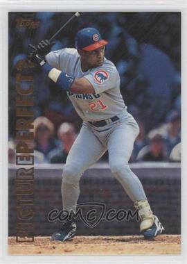 1999 Topps - Picture Perfect? #P6 - Sammy Sosa