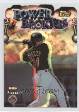 1999 Topps - Power Brokers - Refractor #PB10 - Mike Piazza