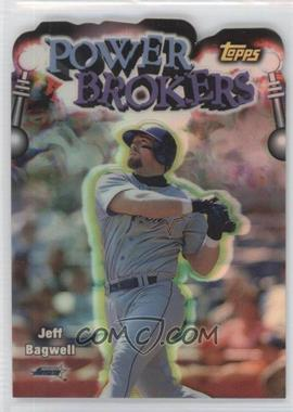 1999 Topps - Power Brokers - Refractor #PB8 - Jeff Bagwell