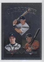 Mark DeRosa, Michael Cuddyer, Jerry Hairston Jr.