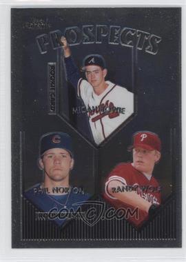 1999 Topps Chrome - [Base] #428 - Phil Norton, Randy Wolf, Micah Bowie