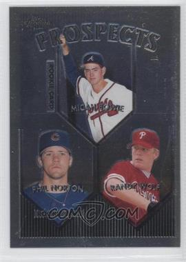 1999 Topps Chrome - [Base] #428 - Phil Norton, Randy Wolf, Micah Bowie