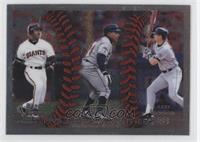 Barry Bonds, Manny Ramirez, Larry Walker