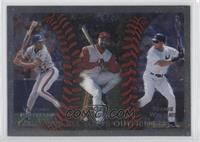 Vladimir Guerrero, Greg Vaughn, Bernie Williams