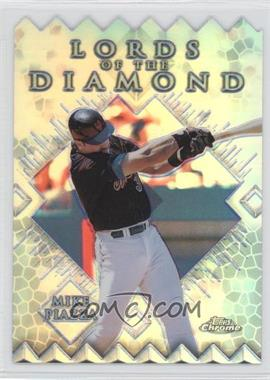 1999 Topps Chrome - Lords of the Diamond - Refractor #LD14 - Mike Piazza
