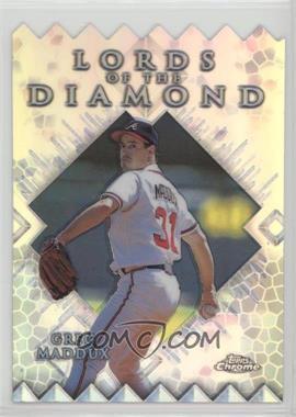 1999 Topps Chrome - Lords of the Diamond - Refractor #LD15 - Greg Maddux