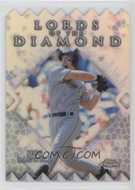 1999 Topps Chrome - Lords of the Diamond - Refractor #LD6 - Jeff Bagwell