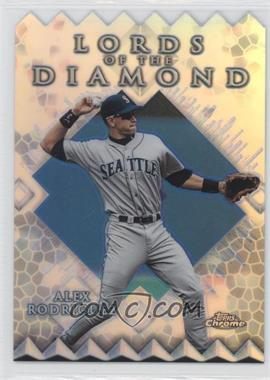1999 Topps Chrome - Lords of the Diamond - Refractor #LD7 - Alex Rodriguez