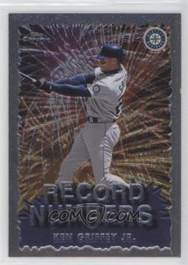1999 Topps Chrome - Record Numbers #RN4 - Ken Griffey Jr.