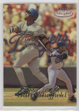1999 Topps Gold Label - [Base] - Class 3 Black #20 - Gary Sheffield