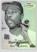 Barry Bonds, Hank Aaron