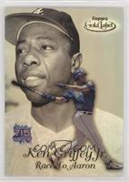 Ken Griffey Jr., Hank Aaron