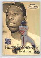 Vladimir Guerrero, Hank Aaron