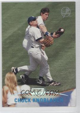 1999 Topps Stadium Club - Pre-Production #PP 4 - Chuck Knoblauch