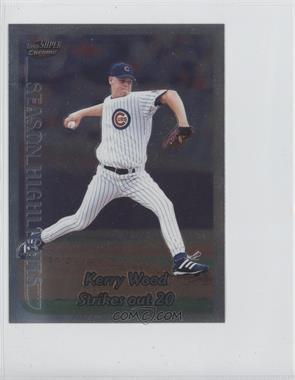 1999 Topps Super Chrome Jumbos - [Base] #33 - Kerry Wood