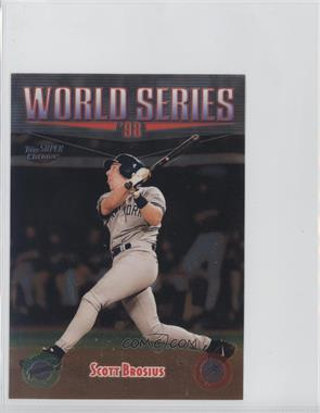 1999 Topps Super Chrome Jumbos - [Base] #36 - Scott Brosius