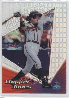 1999 Topps Tek - [Base] - Pattern 12 #16A - Chipper Jones