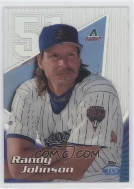 1999 Topps Tek - [Base] - Pattern 23 #17A - Randy Johnson