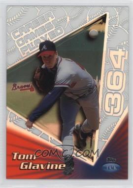 1999 Topps Tek - [Base] - Pattern 27 #30B - Tom Glavine