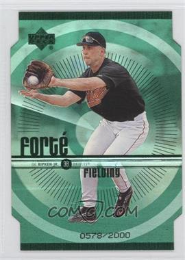 1999 Upper Deck - Forte - Double #F7 - Cal Ripken Jr. /2000