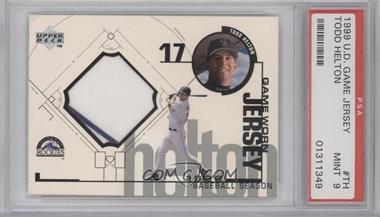 1999 Upper Deck - Game Jersey Series 2 #TH - Todd Helton [PSA9MINT]