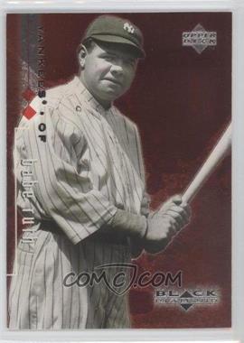 1999 Upper Deck Black Diamond - [Base] - Double Diamond #90 - Babe Ruth /3000