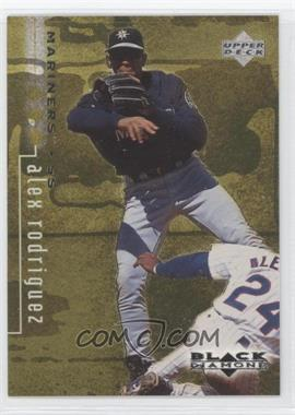 1999 Upper Deck Black Diamond - [Base] - Triple Diamond #77 - Alex Rodriguez /1500