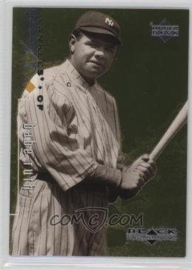 1999 Upper Deck Black Diamond - [Base] - Triple Diamond #90 - Babe Ruth /1500