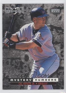 1999 Upper Deck Black Diamond - Mystery Numbers #M13 - Cal Ripken Jr. /1300