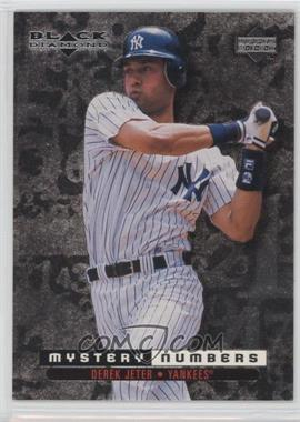 1999 Upper Deck Black Diamond - Mystery Numbers #M8 - Derek Jeter /800