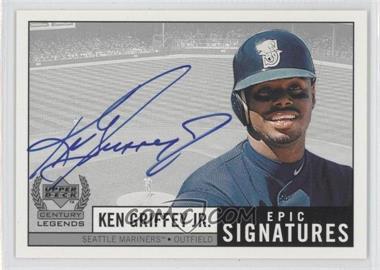 1999 Upper Deck Century Legends - Epic Signatures #Jr. - Ken Griffey Jr.
