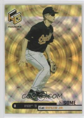 1999 Upper Deck HoloGrFX - [Base] - AuSOME #10 - Cal Ripken Jr.
