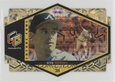 1999 Upper Deck HoloGrFX - Future Fame - Gold #F5 - Greg Maddux
