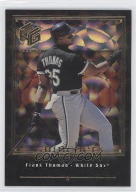 1999 Upper Deck HoloGrFX - Launchers - Gold #L14 - Frank Thomas