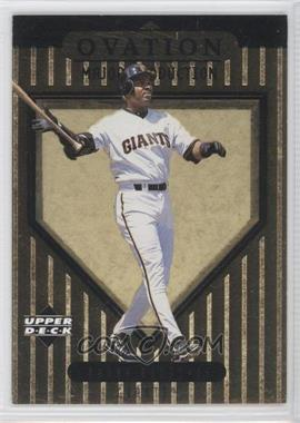 1999 Upper Deck Ovation - Major Production #S6 - Barry Bonds