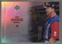 Mark McGwire, Sammy Sosa [Noted]